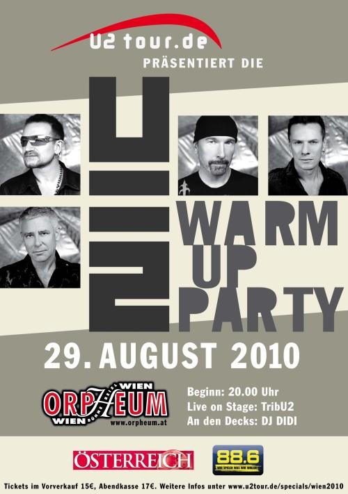 U2Tour.de WarmUp-Party - 10 Jahre u2tour.de